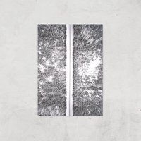 Snow Trail Giclee Art Print - A3 - Print Only