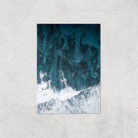 Perfect Wave Giclee Art Print - A4 - Print Only