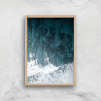 Image of Perfect Wave Giclee Art Print - A2 - Wooden Frame