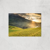 Field Of The Rising Sun Giclee Art Print - A3 - Print Only