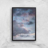 Murky Skies Giclee Art Print - A3 - Black Frame