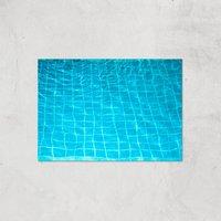 Pool Ripples Giclee Art Print - A4 - Print Only