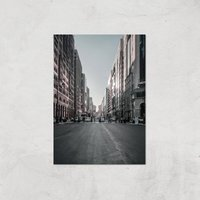 City Crossing Giclee Art Print - A3 - Print Only