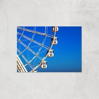 Ferris Wheel Carriages Giclee Art Print - A3 - Print Only
