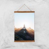 Lighthouse Giclee Art Print - A3 - Wooden Hanger