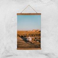 Camping Adventure Giclee Art Print - A3 - Wooden Hanger