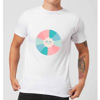 Colours Of The Day Men's T-Shirt - White - M - White