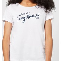 Being Such A Sagittarius Today Women's T-Shirt - White - M - White