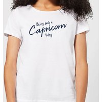 Being Such A Capricorn Today Women's T-Shirt - White - S - White