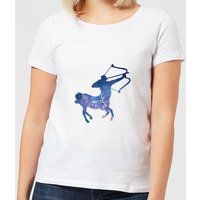 Sagittarius Women's T-Shirt - White - XXL - White - Clothes Gifts