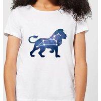 Leo Women's T-Shirt - White - XXL - White - Clothes Gifts