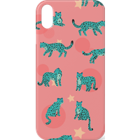 Cosmic Leopard Phone Case for iPhone and Android - iPhone XS Max - Snap Case - Matte