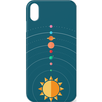 Solar System Phone Case for iPhone and Android - iPhone XR - Snap Case - Matte