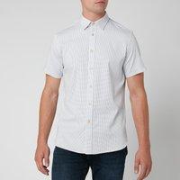 Ted Baker Men's Windo Textured Shirt - White - L/4