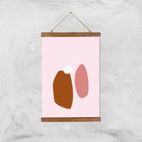 Stockholm Brown Giclee Art Print - A3 - Wooden Hanger - Brown Gifts