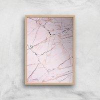 Broken Giclee Art Print - A2 - Wooden Frame