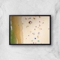 Sun Catchers Giclee Art Print - A3 - Black Frame