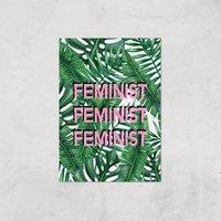 Feminist Giclee Art Print - A4 - Print Only