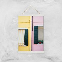 Holiday Home Giclee Art Print - A3 - White Hanger - Holiday Gifts