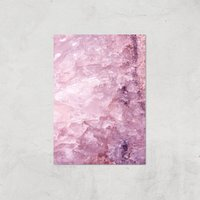 Rose Quartz Giclee Art Print - A2 - Print Only