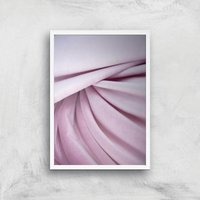 Lavender Velvet Giclee Art Print - A2 - White Frame