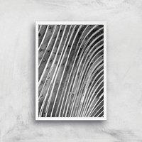 Wood Waves Giclee Art Print - A2 - White Frame - White Gifts