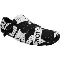 Bont Riot Road Shoes - EU 42 - Black/White