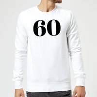 60 Sweatshirt - White - XXL - White
