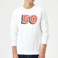 50 Dots Sweatshirt - White - S - White