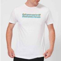 Bad News Youre 90 Mens T-Shirt - White - XL - White