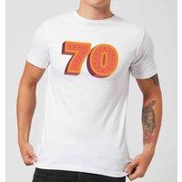 70 Dots Men's T-Shirt - White - M - White