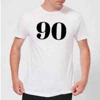90 Men's T-Shirt - White - S - White