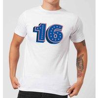 16 Dots Men's T-Shirt - White - XS - White