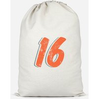 16 Distressed Cotton Storage Bag - Large