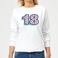 18 Dots Women's Sweatshirt - White - M - White