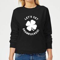 Let's Get Shamrocked! Women's Sweatshirt - Black - XL - Black