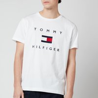 Tommy Hilfiger Men's Flag T-Shirt - White - M