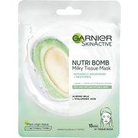 Garnier Nutri Bomb Milky Sheet Mask Almond Milk and Hyaluronic Acid 28g
