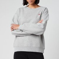 Levi's Women's Standard Crew Neck Sweatshirt - Smokestack Heather - M
