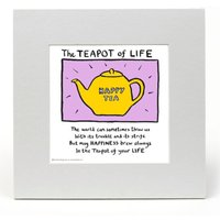 The Teapot of Life by Edward Monkton