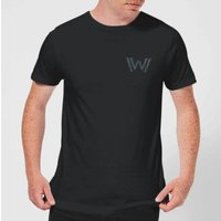 Westworld Logo Mens T-Shirt - Black - 5XL - Black