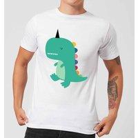Andy Westface Dinocorn Men's T-Shirt - White - 4XL - White