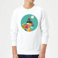 Andy Westface Surfs Up Sweatshirt - White - XXL - White