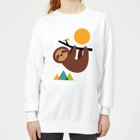Andy Westface Keep Calm And Live Slow Women's Sweatshirt - White - S - White