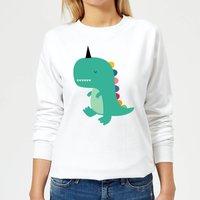 Andy Westface Dinocorn Women's Sweatshirt - White - L - White
