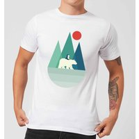 Andy Westface Bear You Men's T-Shirt - White - S - White