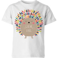 Andy Westface Give Me A Hug Kids' T-Shirt - White - 11-12 Years - White