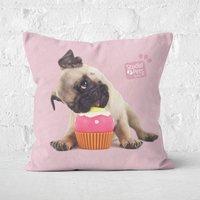 Studio Pets Snuggle Cupcake Square Cushion - 50x50cm - Soft Touch