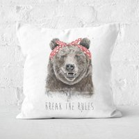 Break The Rules Cushion Square Cushion - 60x60cm - Soft Touch