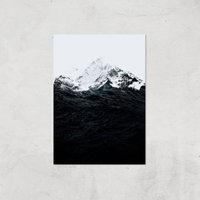Those Waves Were Like Mountains Giclee Art Print - A3 - Print Only